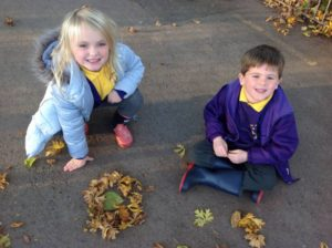 Gardening Club have been inspired by Andy Goldsworthy!