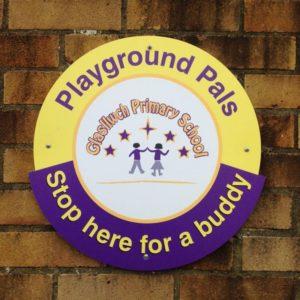 Glasllwch PTA help our  Playground Pals